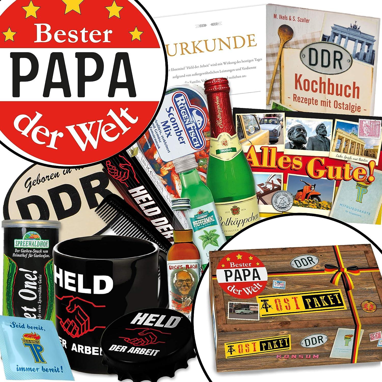 Bester Papa der Welt | Geschenke für Männer | DDR Box für echte ...