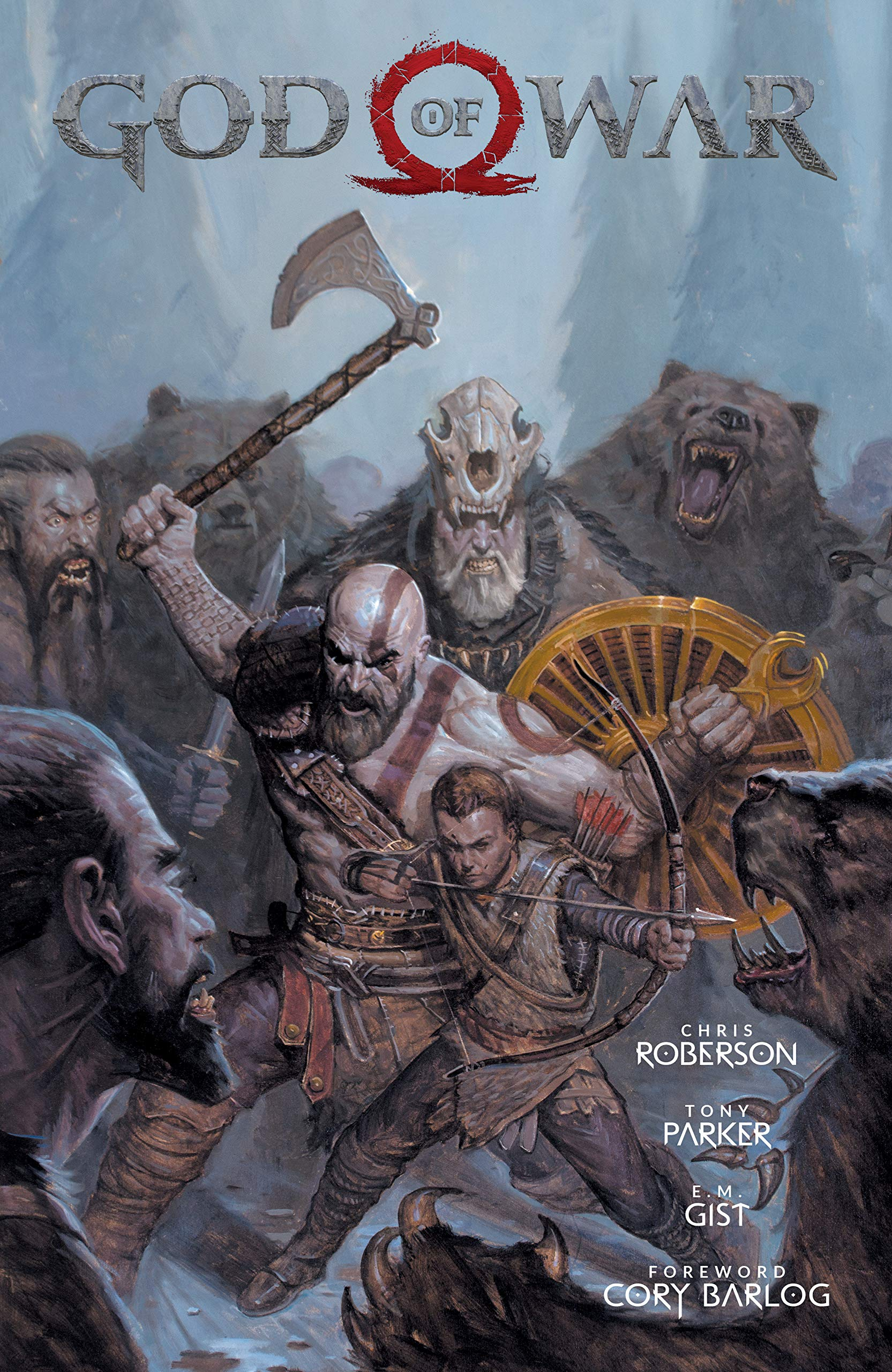 God of War: Roberson, Chris, Parker, Tony: 9781506707464: Amazon.com: Books