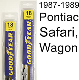 "product image for Pontiac Safari, Wagon (1987-1989) Wiper Blade Kit - Set Includes 18"" (Driver Side), 18"" (Passenger Side) (2 Blades Total)"