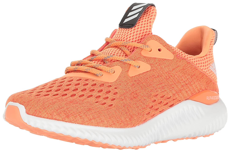 adidas Women's Alphabounce Em W Running Shoe B01LP56M1O 9 B(M) US|Easy Coral/Black/Easy Orange