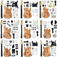 JZLiner Handmade Solid Wood Electric Guitar Body Material DIY for SSH Guitar Part