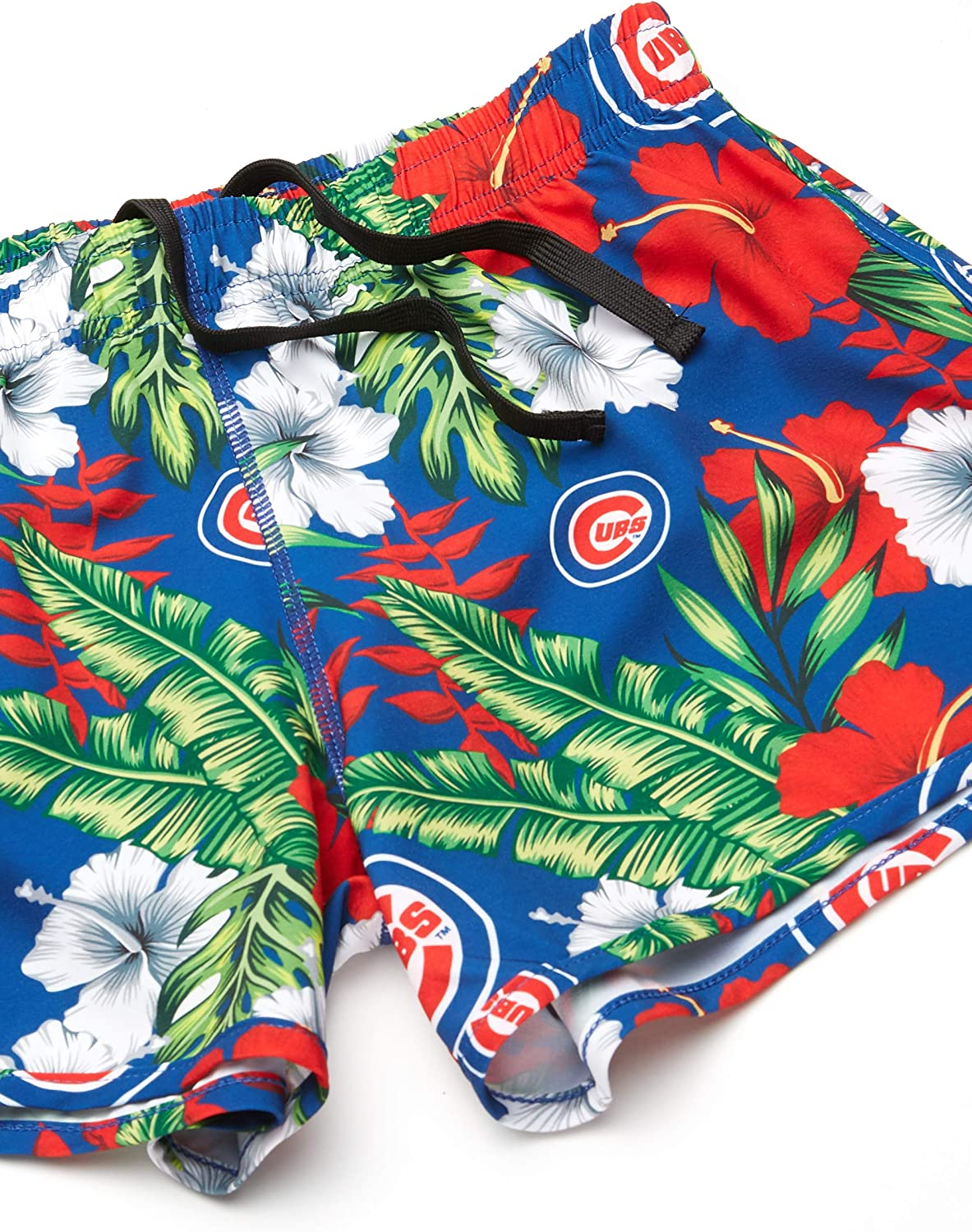 FOCO MLB Womens Floral Running Shorts