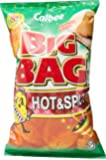 Calbee Big Bag Potato Chips, Hot & Spicy, 180g