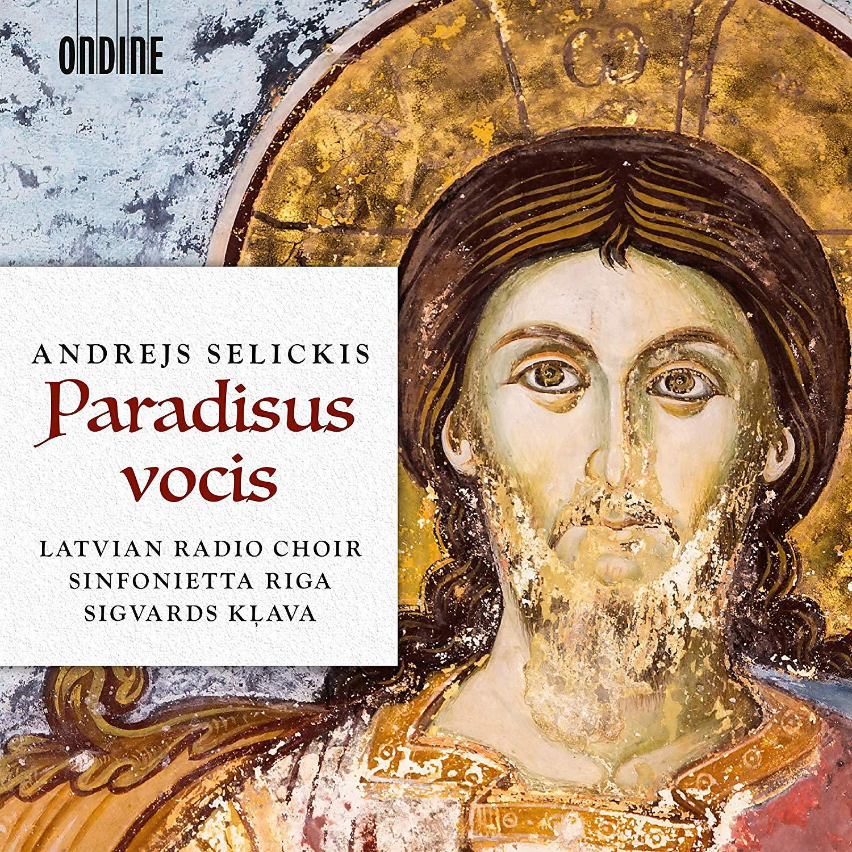 CD : LATVIAN RADIO CHOIR - SINFONIETTA RIGA - SIGVARDS KLAVA - Paradisus Vocis (CD)