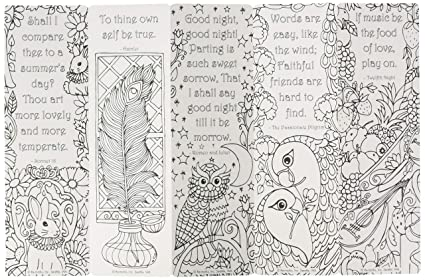 Amazon.com : Re-marks 6814 Coloring Bookmarks, Pack of 5 (20100 ...
