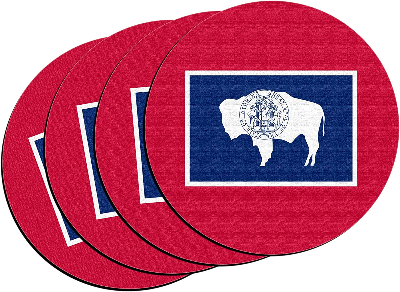 "4-Pack Boelter Brands /""South Carolina State Flag/"" Neoprene Coasters"