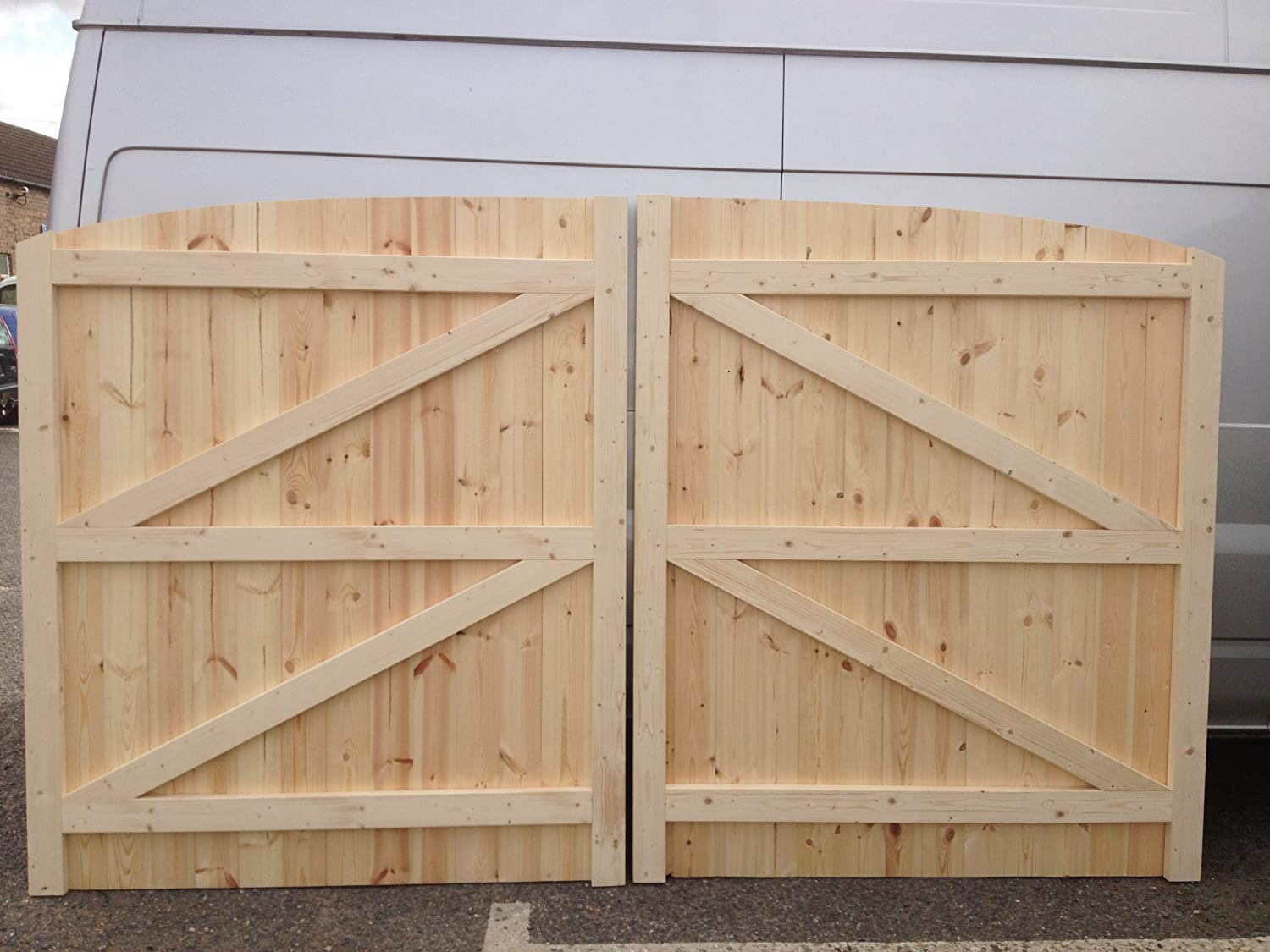 Driveway Gates 4ft Wide X 6ft Tall Each