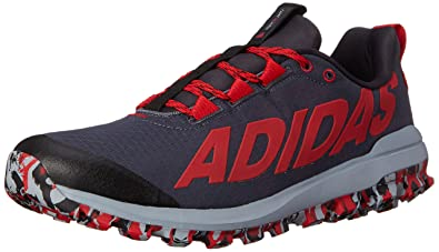312f6aab1 adidas Performance Men s Vigor 6 TR M Running Shoe - Black   Red   Light  Grey