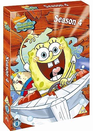 SpongeBob Complete Season 4 Boxset [DVD]: Amazon.co.uk: Spongebob ...