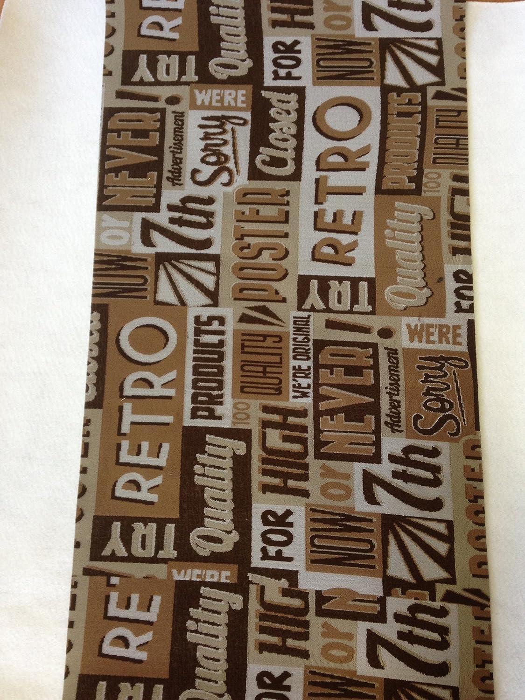 Tappeto cucina 50 x 245 marrore beige happy days antiscivolo life design living usa targhe scritte Pointe