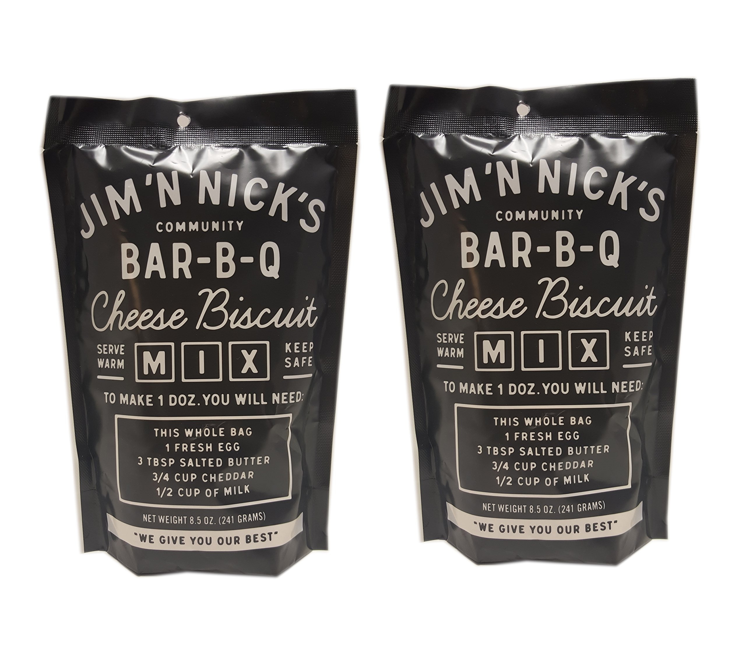 Jim N Nicks World Famous Cheese Biscuits Mix - 8.5 -Ounce (Pack of 2)