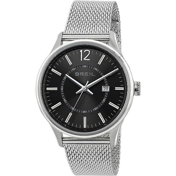 Breil Reloj Analógico para Hombre de Cuarzo con Correa en Acero Inoxidable TW1647