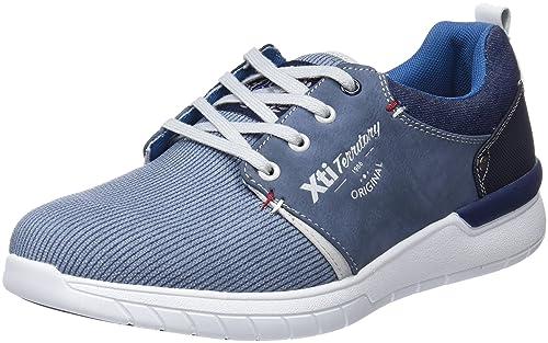 XTI 47145, Zapatillas para Hombre, Azul (Blue), 40 EU