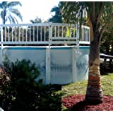 Gli above ground pool fence base kit 8 - Commercial swimming pool safety equipment ...