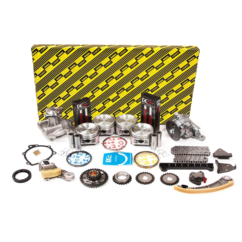 Evergreen Ok8004 2 1 99 03 Chevrolet Tracker Suzuki 2000 Vitara 0 Engine Aerio Esteem Sidekick 18 20 Dohc J18a J20a Rebuild Kit Automotive
