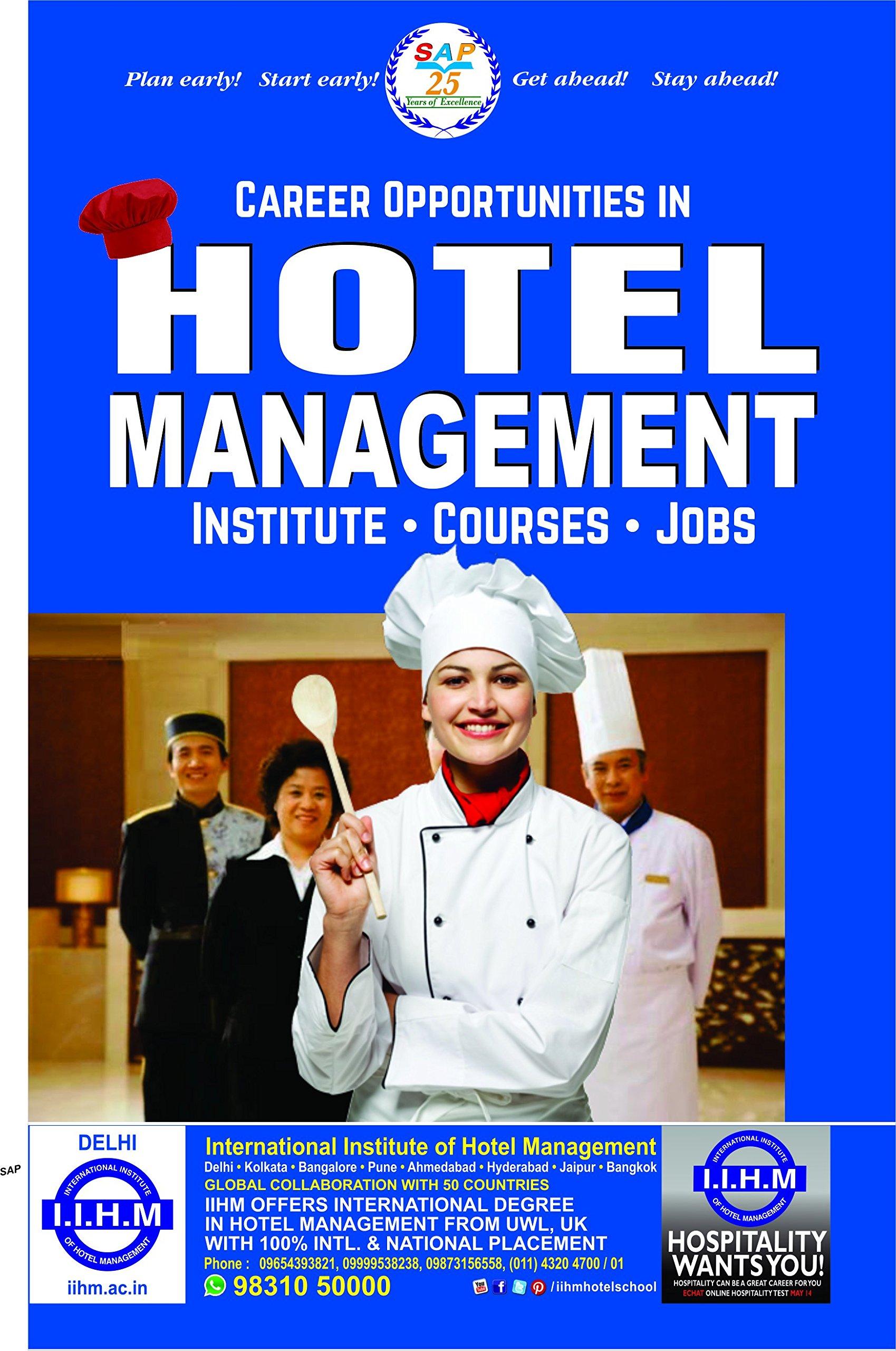 Amazon in: Buy Career Opportunities in Hotel Management Book