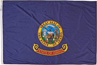 product image for Annin Flagmakers Model 141370 Idaho State Flag 4x6 ft. Nylon SolarGuard Nyl-Glo 100% Made in USA to Official State Design Specifications.
