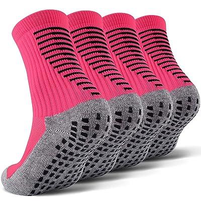 JHM Kids Slipper Hospital Grip Athletic Sport Sockcs For Kids Youth Baby Boys Girls