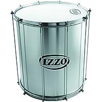 """Izzo Pro Surdo aluminio 18""""x 50cm, color plateado"""