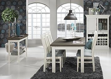 Canett Furniture Skagen Esstisch Mit Smetterling Platte Holzdekor