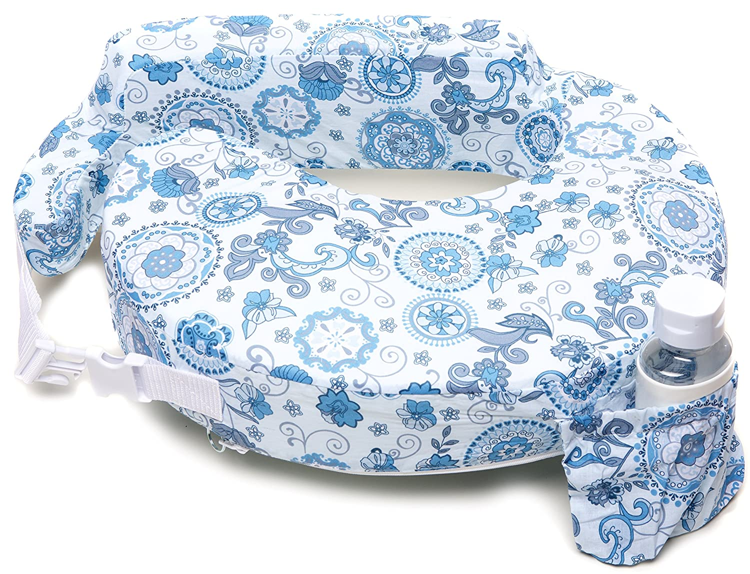 My Brest Friend Original Nursing Posture Pillow, Midnight Poppy Zenoff Products 422