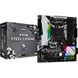 ASRock AMD Ryzen AM4 対応 B450 チップセット搭載 MicroATX マザーボード B450M Steel Legend