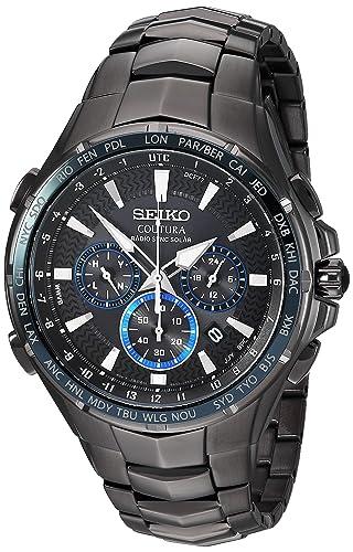 Amazon.com: Seiko SSG021 Reloj cronógrafo cronógrafo para ...