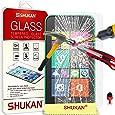 Nokia Lumia 530 Tempéré Verre Cristal Clair LCD Écran Protecteur Gardien & Polissage Tissu + ROUGE 2 DANS 1 Poussière Bouchon SVL3 PAR SHUKAN®, (TEMPÉRÉ VERRE)
