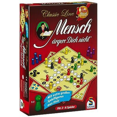 Schmidt Spiele 49085 - Mensch AERGERE Dich NI: Toys & Games