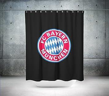 FC Bayern München Custom entworfen & bedruckt Vorhang für die