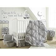 Levtex Home Baby Willow 5 Piece Crib Bedding Set, Grey