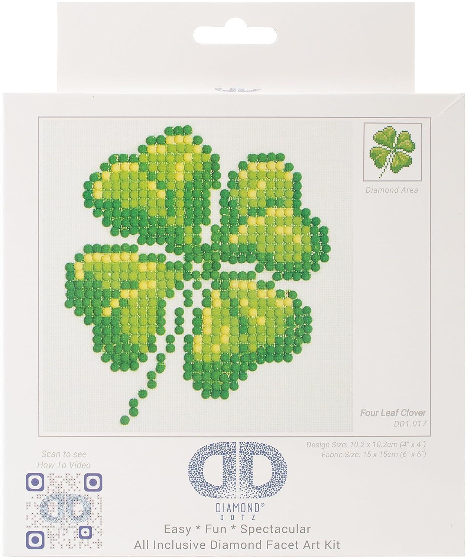 Needleart World Four Leaf Clover Diamond Embroidery Kit DD1.017