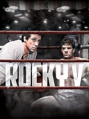 Amazon.com: Rocky V: Sylvester Stallone, John G. Avildsen ...