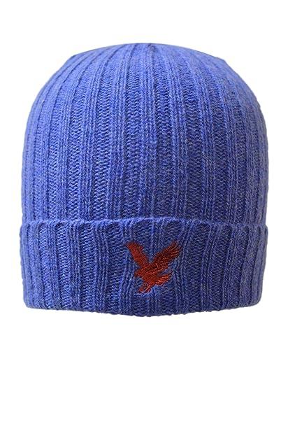 Gorra de lana azul azul vaquero Talla única  Amazon.es  Ropa y accesorios fe2d4eaf2f6