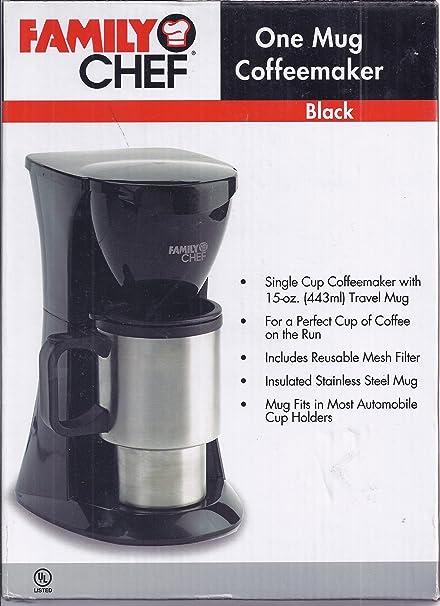 Amazoncom Family Chef One Mug Coffeemaker Coffee Cups Mugs