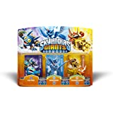 Skylanders Giants Triple Pack 1 - Pop Fizz / Whirlwind (S2) / Trigger Happy (S2)