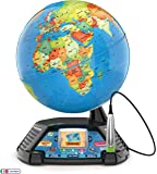 LeapFrog Magic Adventures Globe, Interactive Childrens Globe, Educational Smart Globe for Kids with 2.7 Inch LCD Screen…