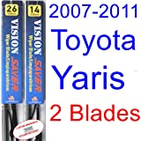 2007-2011 Toyota Yaris Replacement Wiper Blade Set/Kit (Set of 2 Blades