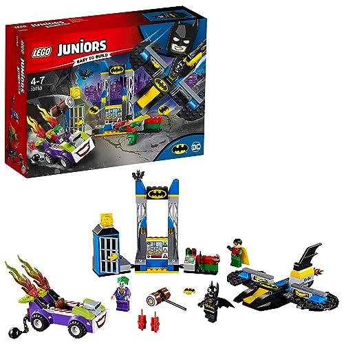 LEGO Juniors - L'attaque du Joker de la Batcave - 10753 - Jeu de Construction