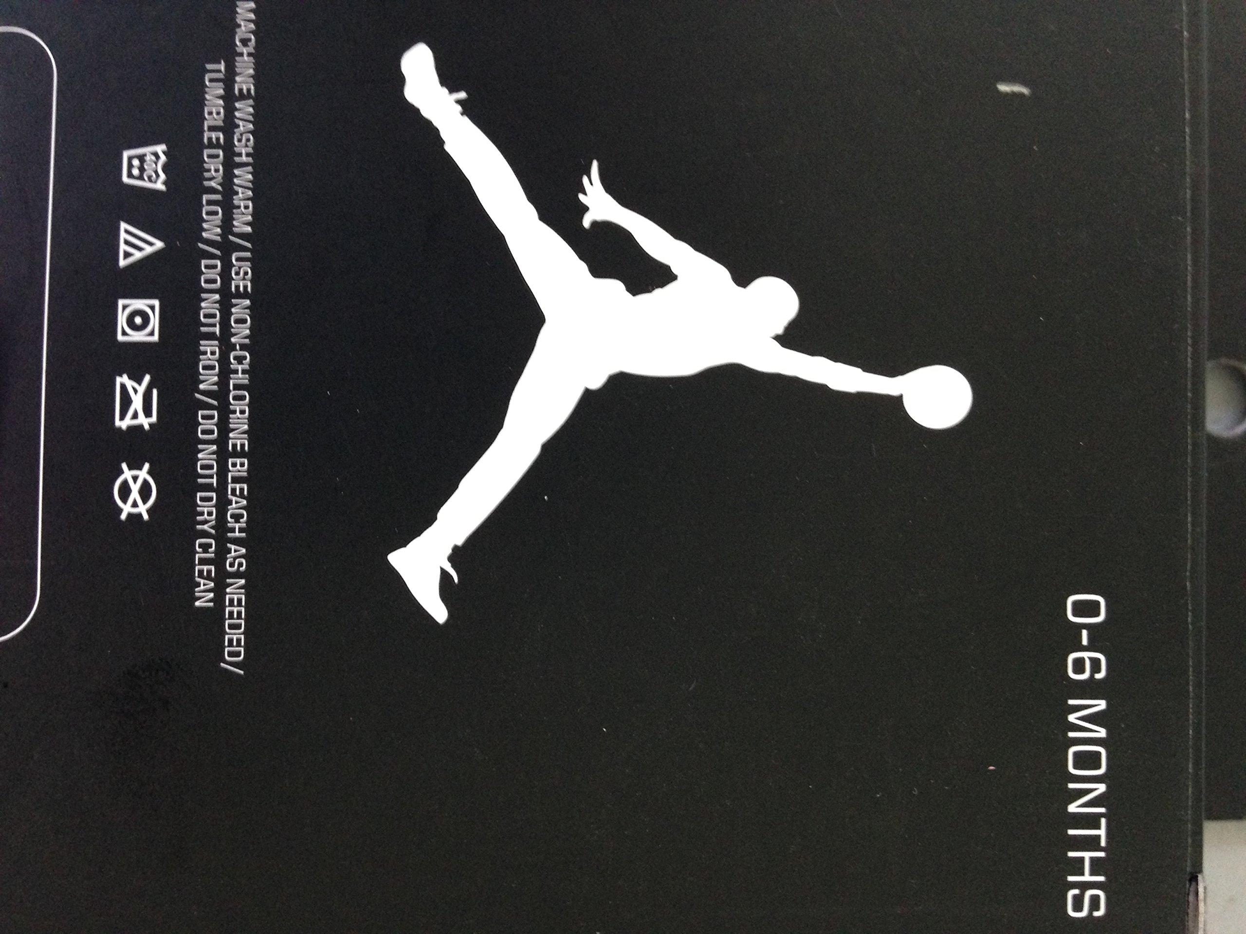 New Nike Jordan Jumpman 23 Baby Booties, Blue White, 0-6 Month, 2 Pair.