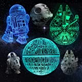 Star Wars Toys, 3D Night Light Cool Gifts for Kids Men Women, Fathers Day Gifts for Dad from Daughter Son 3D Illusion Star Wa