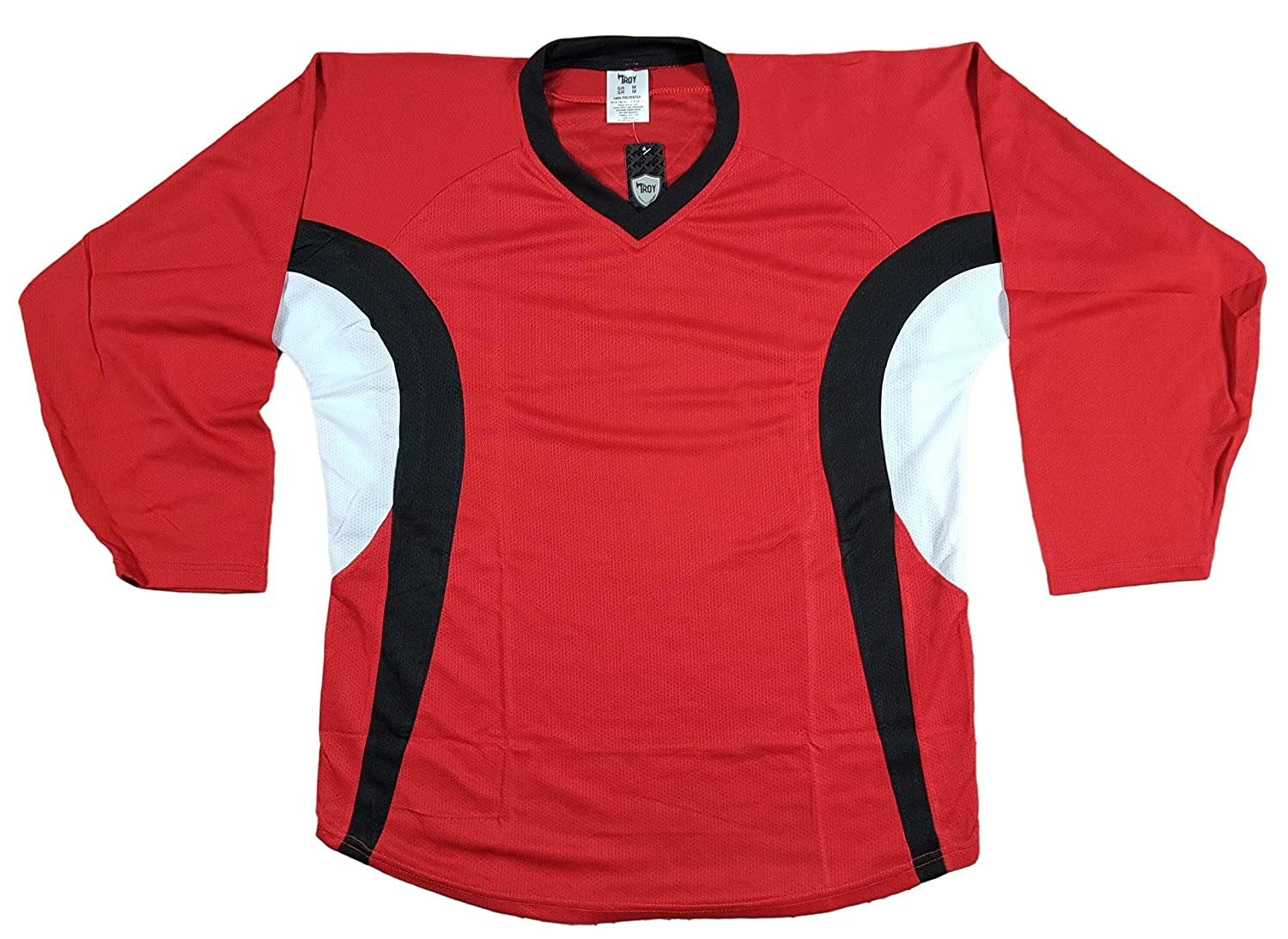 Troy Practice Hockey Jersey for Men - Lghtweight Durable Adult Jerseys