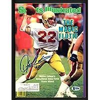 $42 » Doug Flutie Autographed Sports Illustrated Magazine Boston College Eagles Beckett BAS #S76508 - Beckett Authentication