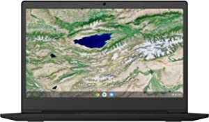 "Lenovo Chromebook S340 14"" 4GB 64GB Intel Celeron N4000,Onyx Black(Renewed)"