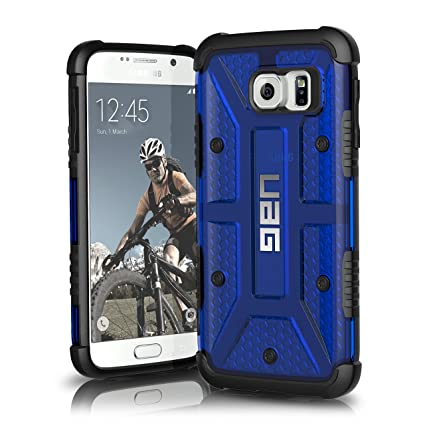 quality design 48411 704d1 UAG Samsung Galaxy S6 [5.1-inch Screen] Feather-Light Composite [Cobalt]  Military Drop Tested Phone Case
