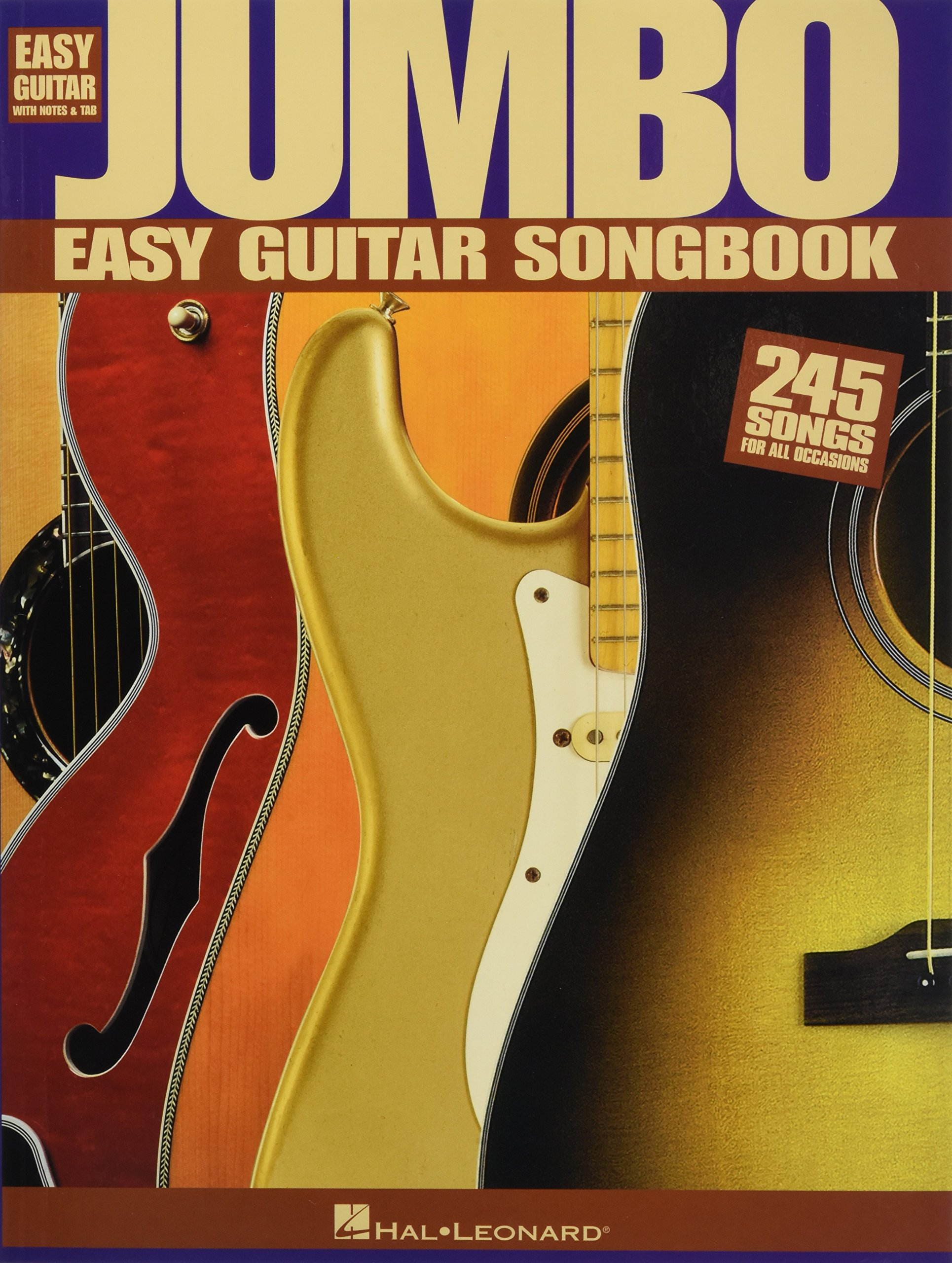 Amazon Jumbo Easy Guitar Songbook Easy Guitar With Notes Tab