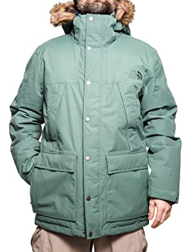 19aa2ec59 North Face Men's M Mountain Murdo Waterproof Jacket, Duck Green, 2X ...