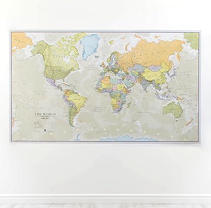 Amazoncom Maps International Giant World Classic MegaMap