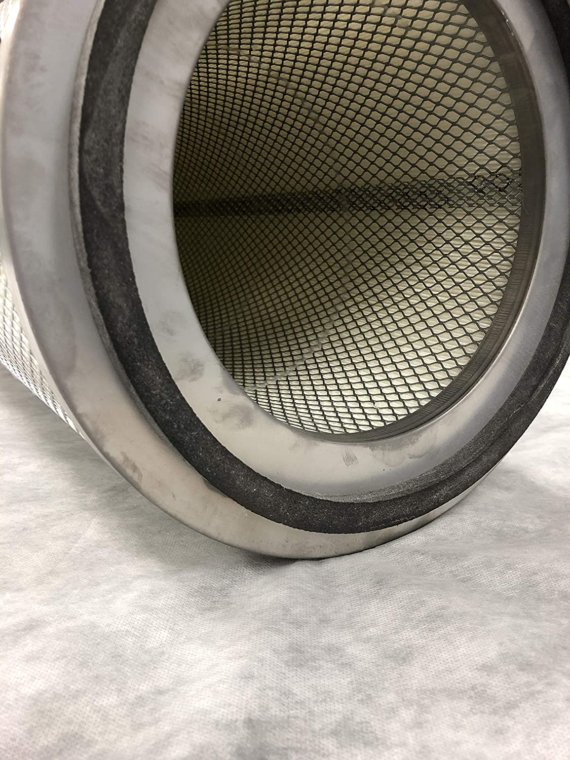26 OD Height Nanofiber FR 12.75 ID Open-Closed pans 0.540 BH Dust Collector Filter 8.375