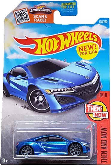 HOT WHEELS /'17 Acura NSX Red HW Then And Now 8//10